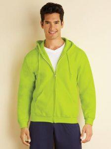 promotional clothing - Full-zip hooded fleece sweatshirt