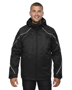 3-in-1 jacket in black.