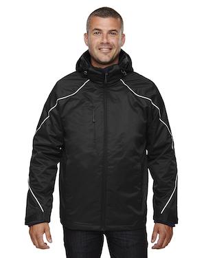 3-in-1 jacket in black.