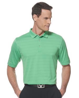 Calaway Opti-vent polo in vibrant green.